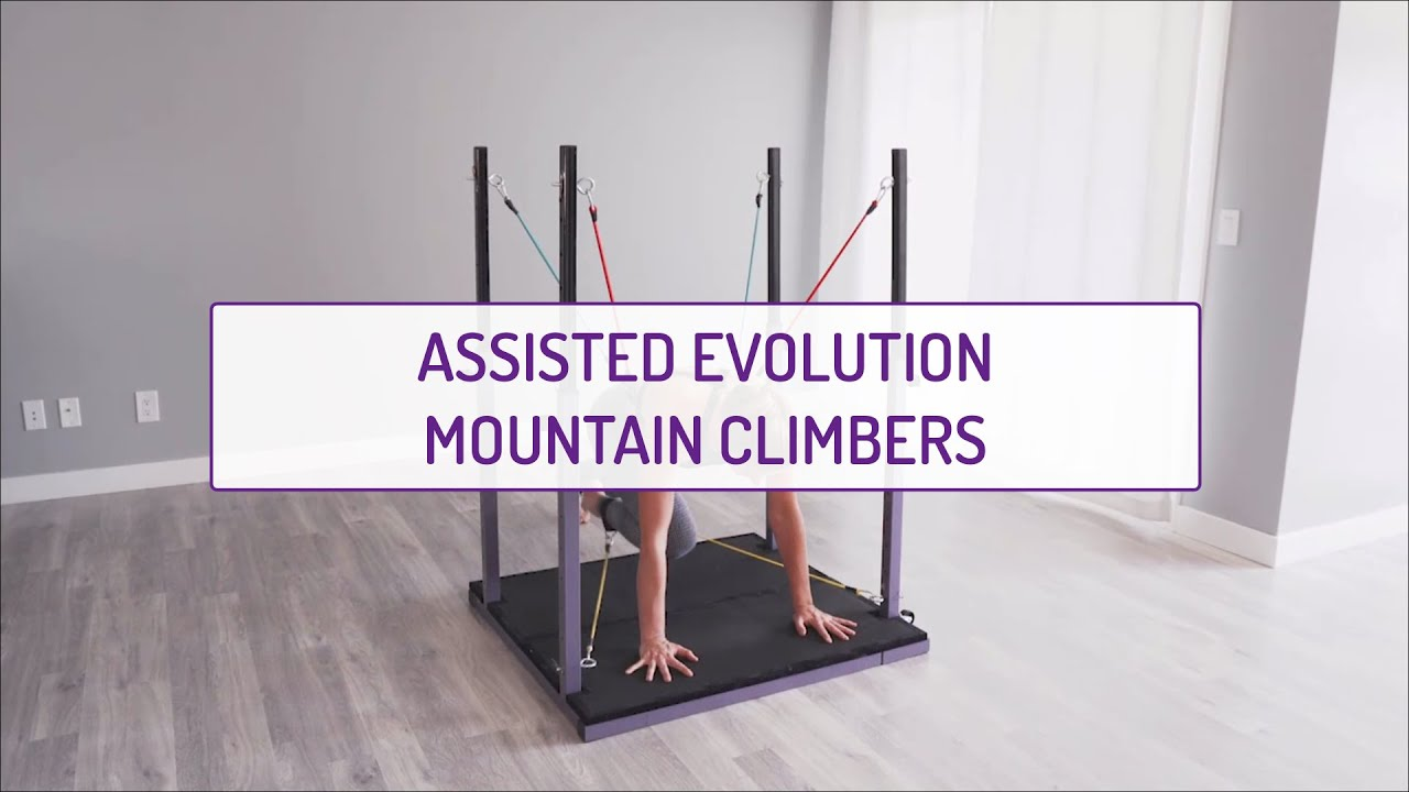Assisted Evolution Mountain Climbers