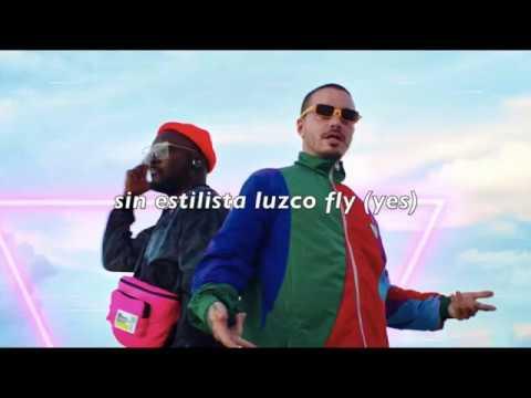 The Black Eyed Peas, J Balvin - RITMO - sub español (lyrics)