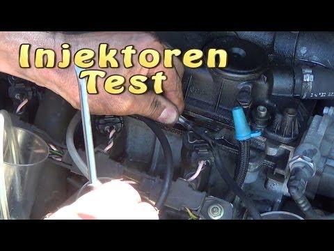 Injektoren Test mit Dieselrücklauf Vergleich