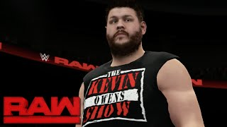 WWE 2K16 Creations: 'THE KEVIN OWENS SHOW' New Attire! (PS4)