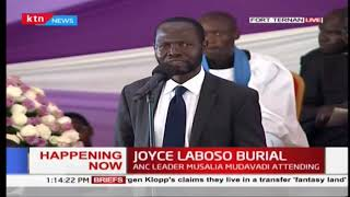 NYONG'O: We must not invest in buildings only, we must develop human resource to fight cancer