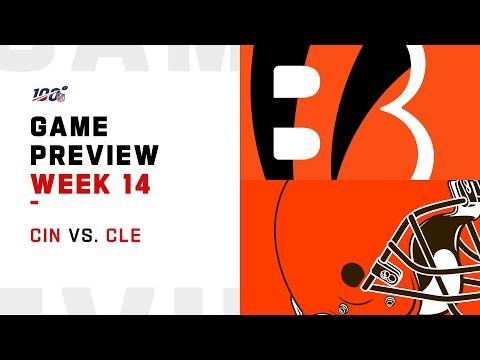 Cincinnati Bengals vs Cleveland Browns Week 14 NFL Game Preview