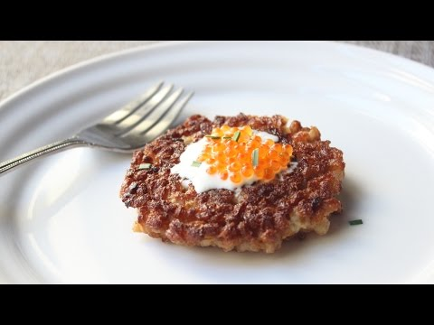 Crispy Farro Cakes Recipe – How to Make Farro Cakes