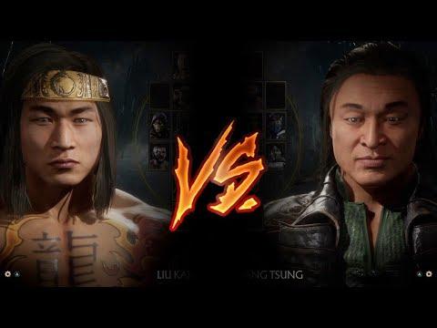 Mortal Kombat 11 - Liu Kang Vs. Shang Tsung (VERY HARD)
