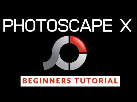 FREE Photo Editors (RAW): Photoscape X & RawTherapee - Tony