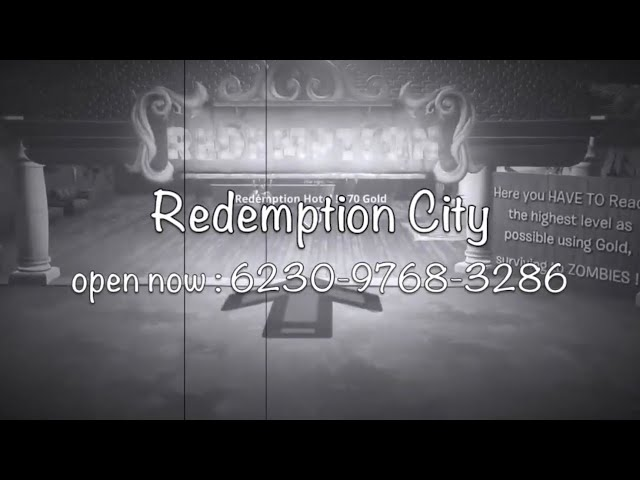 Redemption City - 32 players - Zombies !