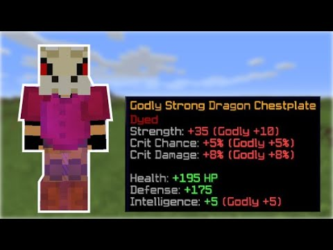 Maxing My Strong Dragon Armor In One Video Hypixel Skyblock 28 Minecraft Amino To obtain each piece of dragon armor you must either craft it or obtain it from a dragon(of course you can also get it from auctions too, as it is sellable. amino apps