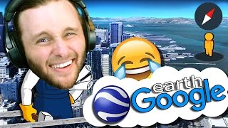 Google Earth VR | Funny Sightings | LEAVE THE HOUSE WITHOUT LEAVING