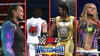 WWE 2K17: 8 NEW Updated ATTIRES from WrestleMania 33 on Xbox One (AJ Styles, Seth Rollins, Jeff Hardy & more!)
