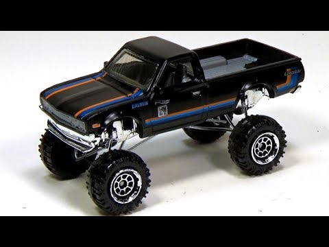 Guy creates a working suspension for a hot wheels truck (his videos are all great)