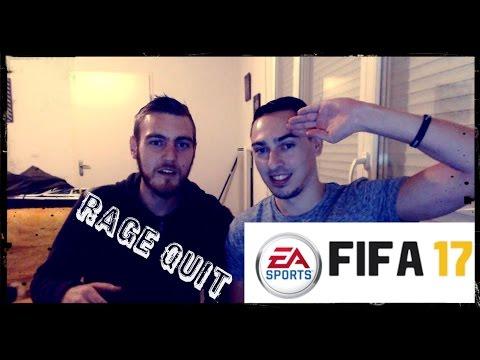 FIFA 17 // DRAFT - LA SOIREE DU RAGE QUIT !!! avec IILilian31II