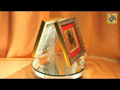 Подарок знак Зодиака ТЕЛЕЦ - картина на сусальном золоте