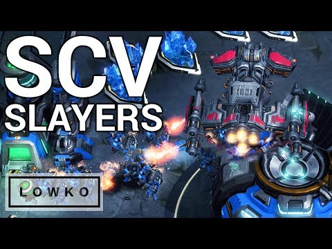 StarCraft 2: SCV SLAYERS!