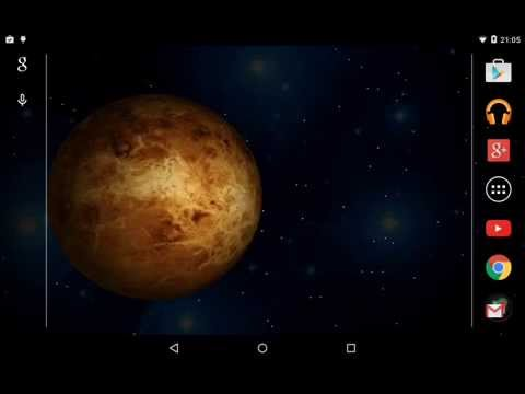 Video of 3D Planets Live Wallpaper