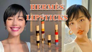 HERMÈS LIPSTICKS! Review son Rouge Hermes/Cách ly ở nhà thì làm gì?