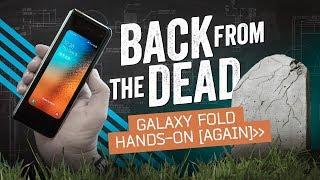 Samsung Galaxy Fold Hands-On - How Did Samsung Fix The Galaxy Fold?
