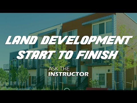 Land Development from Start to Finish - Ask the Instructor - YouTube