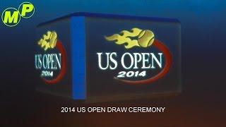 MarblePlayTV: US OPEN DRAW CEREMONY 08.21.2014