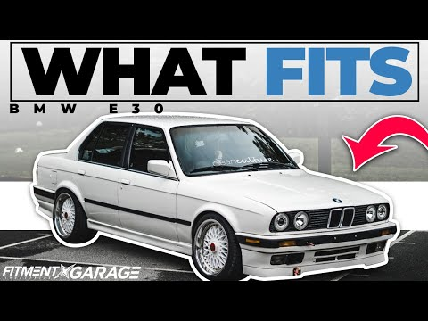 BMW E30 | What Wheels Fit