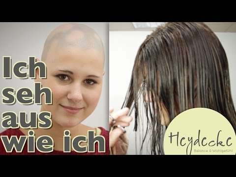 Die Behandlung des Haares für die Größe von den Volksmitteln