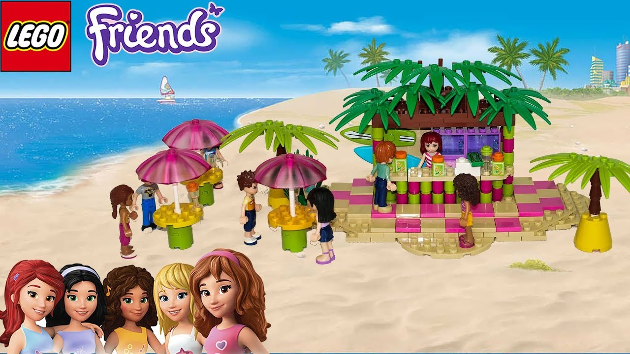 Lego Friends Mia´s Summer Juice Bar by Misty Brick.