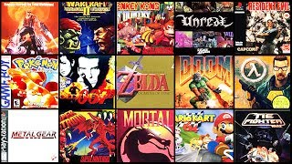 TOP 30 BEST Video Games of the 90s (BEST RETRO GAMES) | Chaos