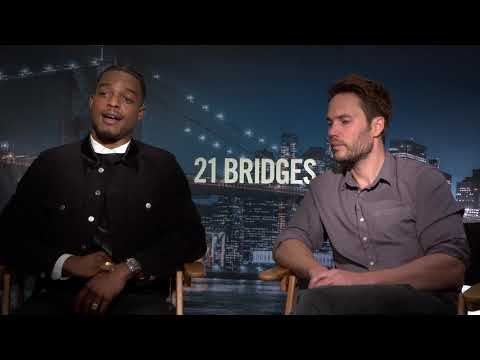 Stephan James & Taylor Kitsch Interview: 21 Bridges