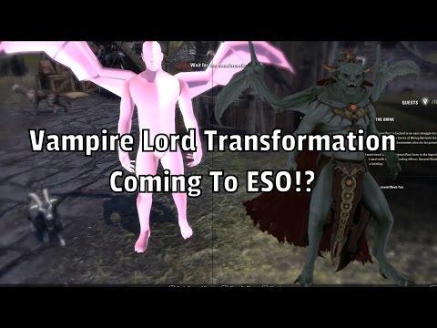 Video Of Possible Vampire Lord Skill Line Elder Scrolls