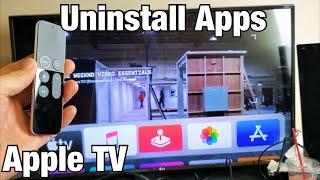 Apple TV 4K: How to Uninstall / Delete Apps