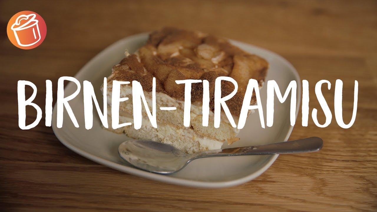 Birnen-Tiramisu