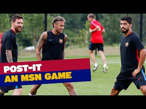 🎥 Neymar vence Messi e Suárez em duelo de pontaria