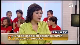 Reportaje Dermabia Hiperhidrosis - Sin Ir Más Lejos Verano AragonTV - Doctora Ana Cristina Lázaro Tremul