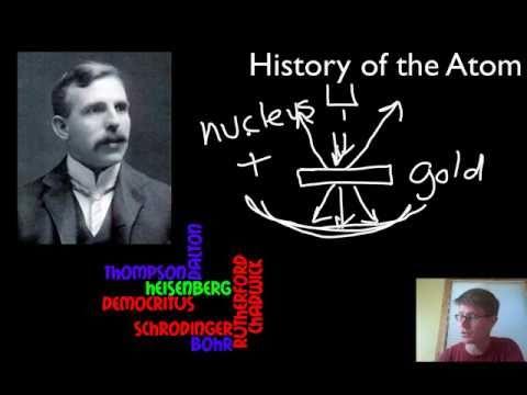 تاريخ الذرة