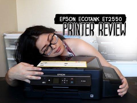 Epson Ecotank ET 2550 Printer Review 2017