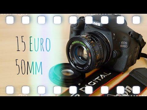 Analoge Canon FD Objektive an digital EOS EF-S Spiegelreflexkameras | Flanell, Kameras & Film
