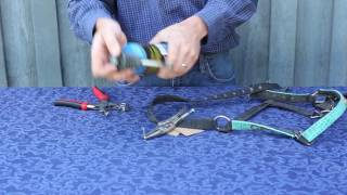 Signature Handtools   How To Punch Holes in Nylon Halters