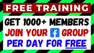 How to Add 1000+ Real Members to Your Facebook Group Every Day For FREE With Just ONE Click – Guide