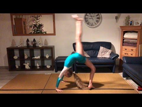 Bogengang rückwärts lernen back walkover Tutorial Teil 2 💗 Haley's Turnwelt 💗
