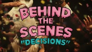 "Behind The Scenes of ""Decisions"" - the new music video from Borgore feat. Miley Cyrus"