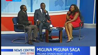 Miguna Miguna's woes continue as Immigration reject his entry-News Center