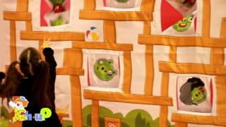 Аттракцион Angry Birds на праздник
