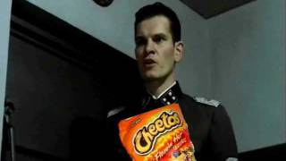 Hitler eating Cheetos...FOR 10 HOURS!