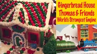 Gingerbread House - Thomas And Friends World's Strongest Engine