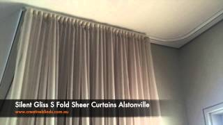 Silent Gliss S Fold Sheer Curtains
