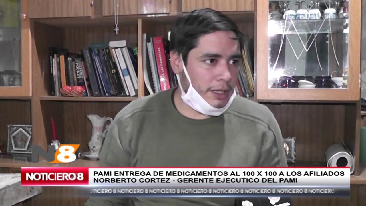 PAMI ENTREGA DE MEDICAMENTOS AL 100% PARA AFILIADOS