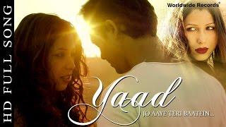 Yaad Jo Aaye Teri Baatein - Featuring - Jen Paul, Radha