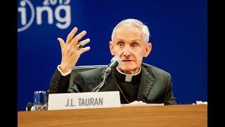Il ricordo di Roberto Fontolan del cardinale Jean-Louis Tauran con i suoi interventi al Meeting (2:25)