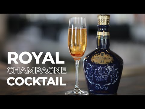A Royal Champagne welcome