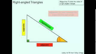 Label Sides Of A Right Angled Triangle