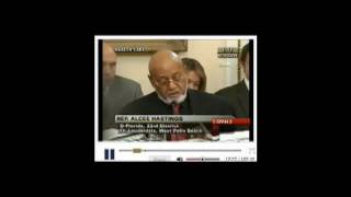 Alcee Hastings , aint no rules around here